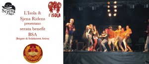 Venerdì 1 Marzo SCJENA RIDENS & BSA: Improvvisazione teatrale e azione solidale e DJ set di Nico e Mello+ Visual!