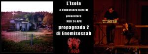 Mercoledì 24   Enomisossab  Propaganda 2