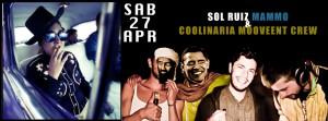 Sabato 27  Sol Ruiz e Mammo e Coolinaria Mouvment Crew