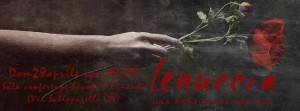 """Domenica 28 Marzo a Cuneo  L'associazione L'isola e Libera sono lieti di presentare """"LENUCCIA"""" con il patrocino di     Vodisca Teatro In collaborazione con Teatro in Fabula"""