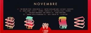 Novembre All'isola
