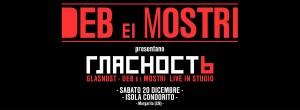 """Sabato 20 Dic 2014 Deb e i Mostri presentano """" Glasnost"""""""