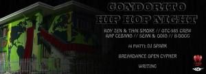 Sabato 17/01/2015 Condorito Hip Hop Night