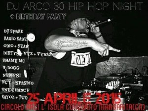 DJ Arco Hip Hop Night